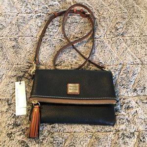 NWT dooney and Burke pebbled leather crossbody